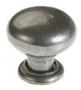 Burbidge Handle Collection Traditional K136 Knob Cast Iron Effect 35 x 35 mm