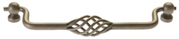 Burbidge Handle Collection Traditional K42 Cage Drop Handle Pewter Effect 180 x 25 mm 170 mm Hole Centre