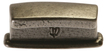 Burbidge Handle Collection Traditional K104 Tung Handle Cast Iron Effect 58 x 28 mm 32 mm Hole Centre