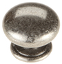 Burbidge Handle Collection Classic K134 Knob Pewter Effect 33 x 27 mm