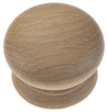 67 Large Timber Knob Natural Oak 54 x 41 mm