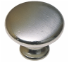Burbidge Handle Collection Classic K25 Knob Matte Nickel Effect 30 x 23 mm