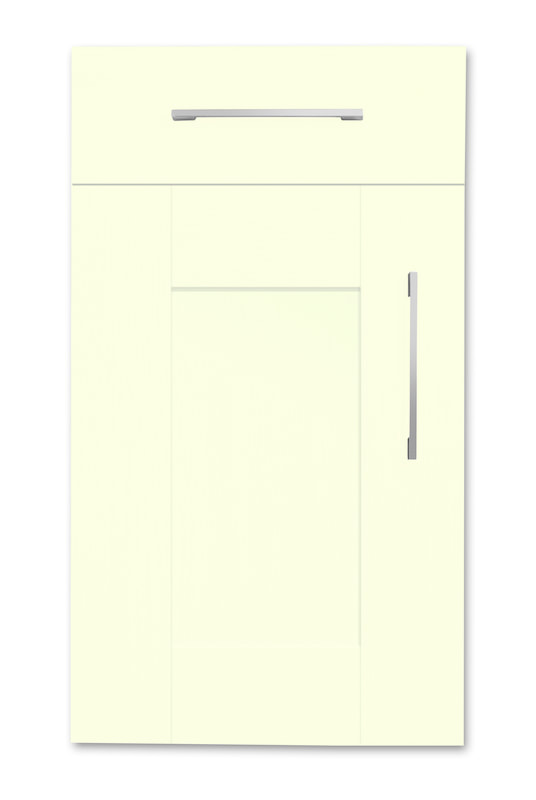 Mirano Richmond Painted Classic Traditional Cream Matte Shaker Tongue V Groove Kitchen Door