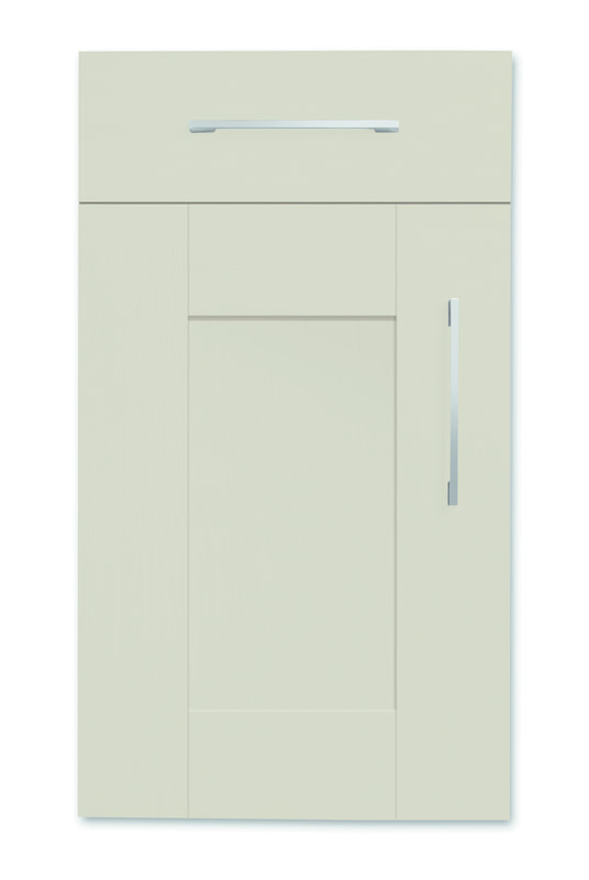 Mirano Richmond Painted Classic Traditional Dakar Matte Shaker Tongue V Groove Kitchen Door