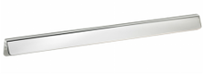 Burbidge Handle Collection Modern K161 Large Grip Handle Chrome Effect 350 x 28.5 mm 320 mm Hole Centre