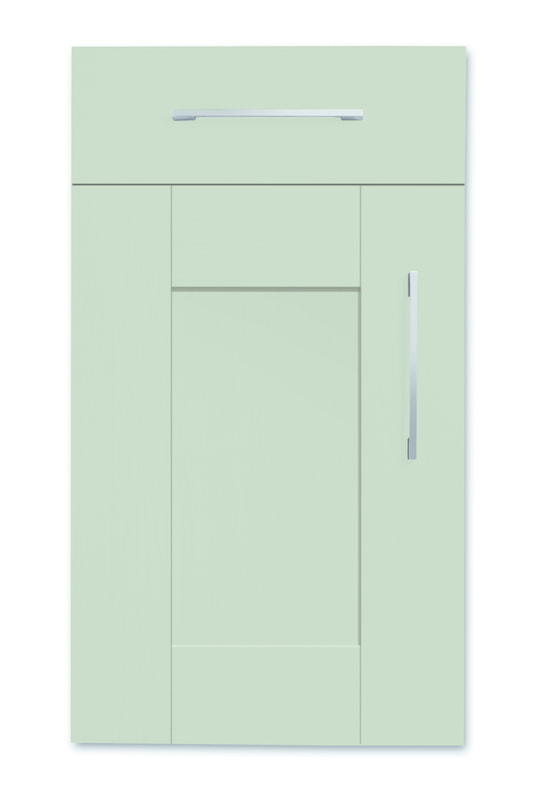 Mirano Richmond Painted Classic Traditional French Grey Matte Shaker Tongue V Groove Kitchen Door