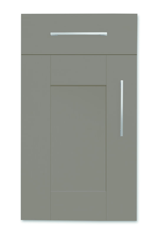 Mirano Richmond Painted Classic Traditional Lava Matte Shaker Tongue V Groove Kitchen Door