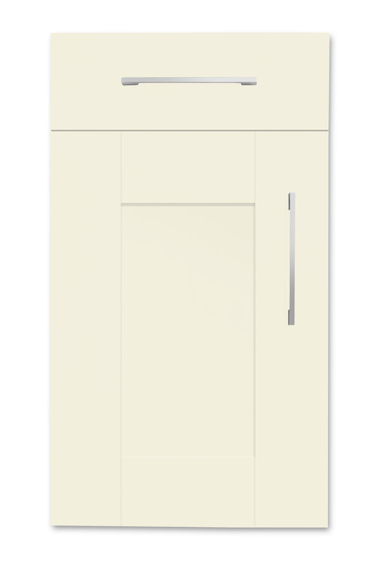 Mirano Richmond Painted Classic Traditional Mussel Matte Shaker Tongue V Groove Kitchen Door