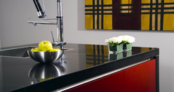 Kitchen Worktop Hanex Acrylic Solid Bespoke Fabricated Surface Counter
