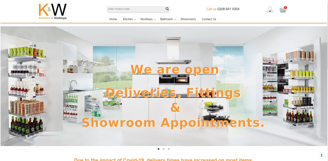 Kitchens and Worktops Ltd Online Store