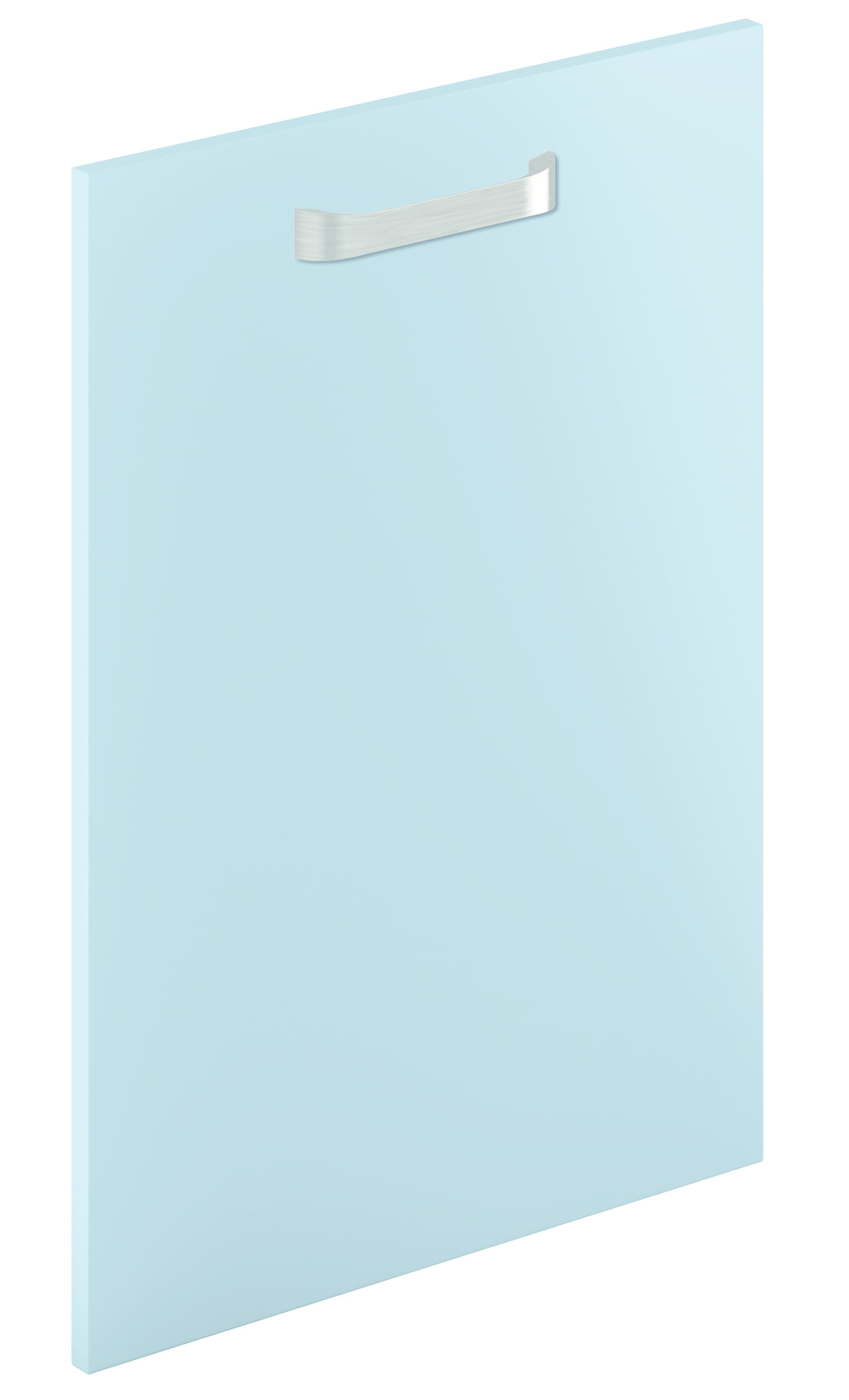 Mirano Lusso Modern Contemporary Blue Matte Painted Slab Kitchen Door