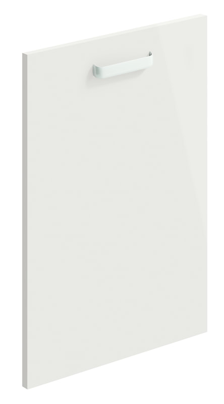 Mirano Lusso Modern Contemporary Cashmere Gloss Painted Slab Kitchen Door