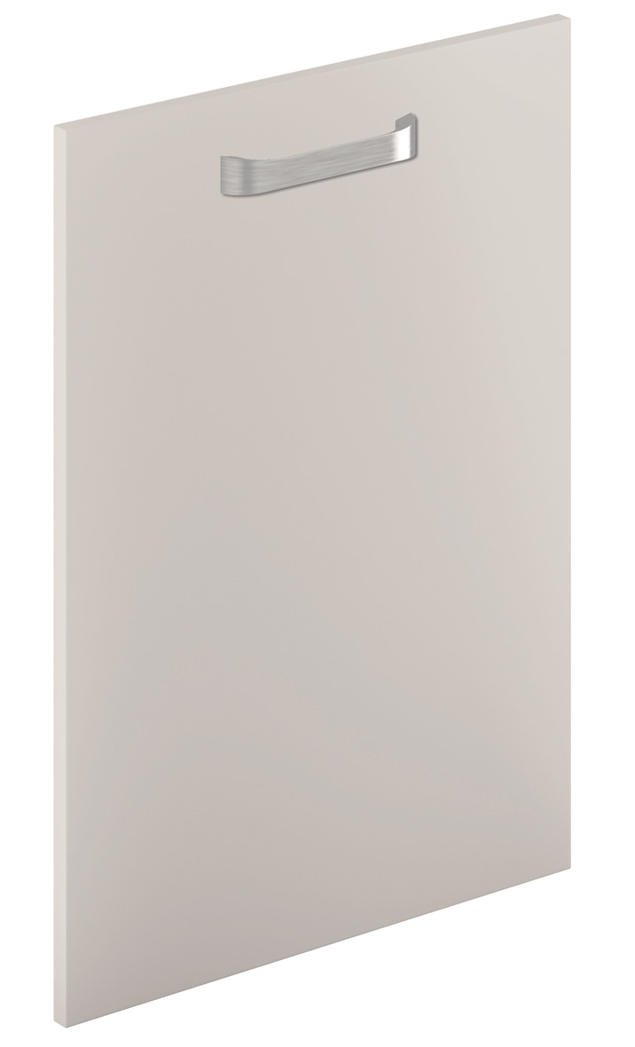 Mirano Glacier Modern Contemporary Cashmere Matte Painted Slab Kitchen Door