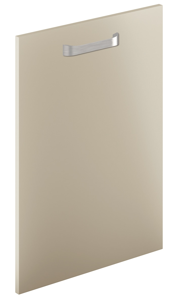 Mirano Glacier Modern Contemporary Dakar Matte Painted Slab Kitchen Door