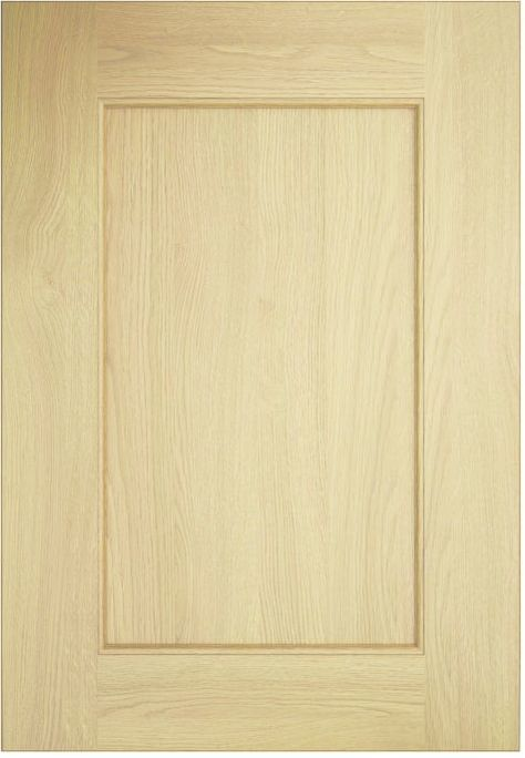 Uform Kitchen Stori Wakefield Ash Tongue Groove Natural Timber Shaker Door