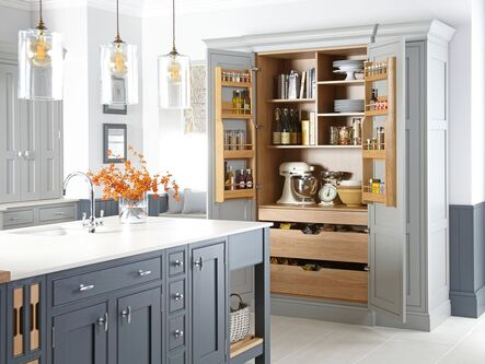 Bespoke Painted in-frame Shaker Kitchens