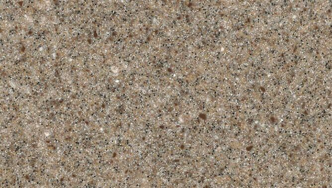 London Acrylic Solid Surface Staron Brown