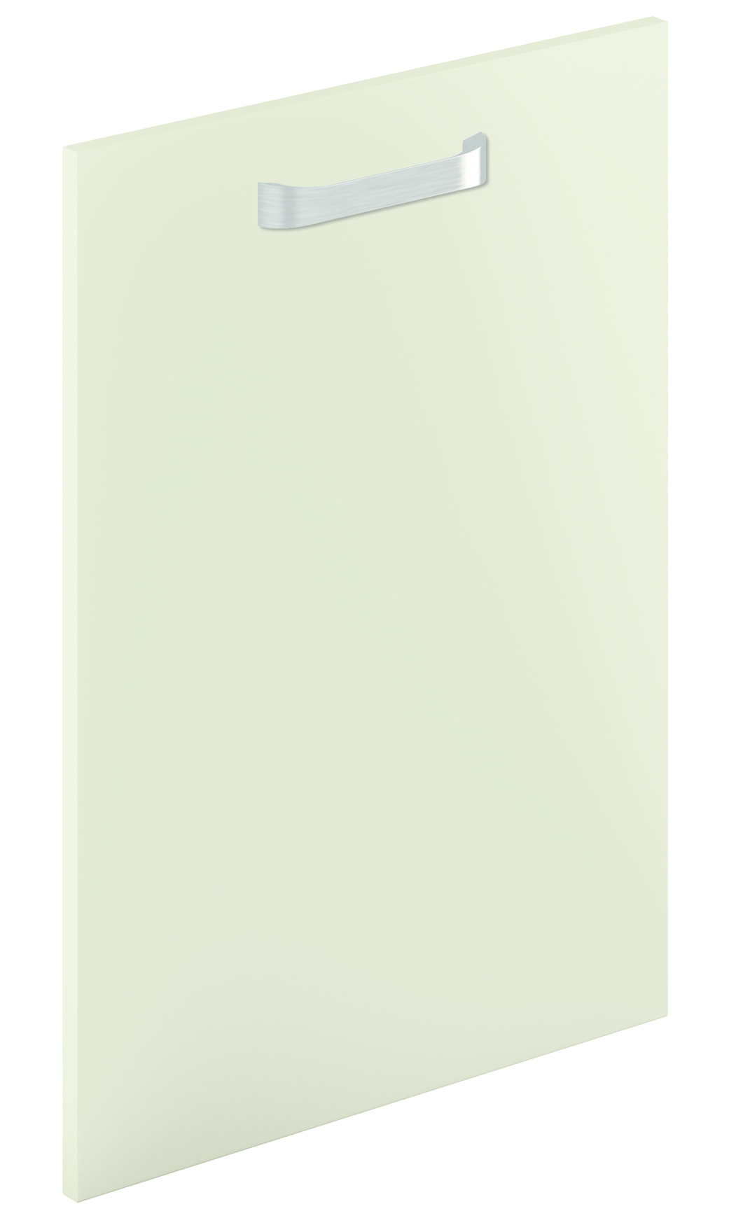 Mirano Lusso Modern Contemporary Sage Green Matte Painted Slab Kitchen Door