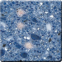 Hanex T-007 H-Indigo Acrylic Solid Surface Worktop Counter