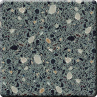 Hanex T-042 H-Gravel Acrylic Solid Surface Worktop Counter