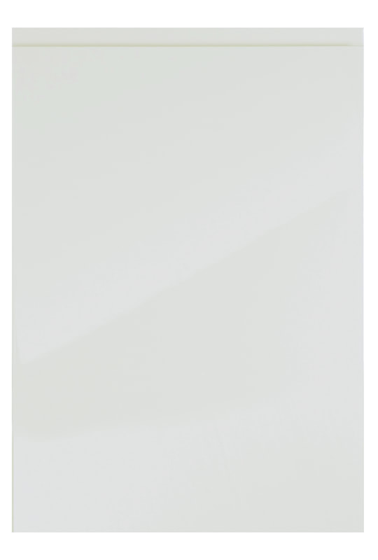 Uform Kitchen Stori Strada Modern Contemporary White Gloss Painted Slab Kitchen Door