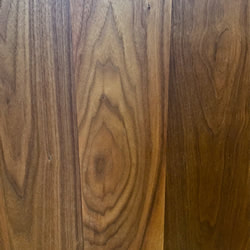 150mm Super Stave Solid Black American Walnut Timber Wooden Surface Worktop Counter