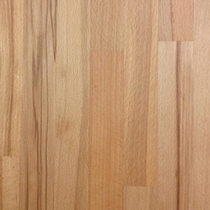 25mm Small Stave Solid Rustic Beech Timber Wooden Surface Worktop Counter
